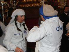 Las costaleras de Loreto, momentos antes de iniciar su recorrido // CharryTV