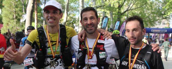 Capó, Castaño y Calleja comparten victoria en unos históricos 101 Kilómetros, José Márquez volvió a imponerse en bicicleta de montaña y Javier Lara, cuarto, fue el primer rondeño , 14 May 2016 - 23:10