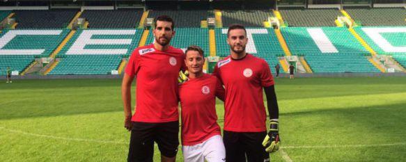 Tres exjugadores del CD Ronda buscan hoy hacer historia en Champions en Celtic Park, Chechu, Calderón y Lolo Soler se enfrentan con el Lincoln al campeón escocés buscando hacer bueno el 1-0 de la ida , 20 Jul 2016 - 13:23