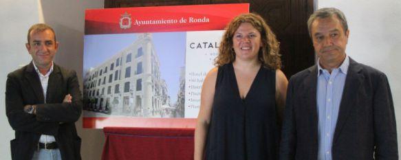 Catalonia consolida su apuesta por Ronda y ya tiene licencia para su segundo hotel, La cadena invertirá más de 7,3 millones de euros en un proyecto que permitirá la contratación de una veintena de trabajadores fijos, 28 Jul 2016 - 17:25