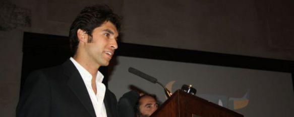 Cayetano Rivera en una de las Galas del Turismo de Ronda. // CharryTV