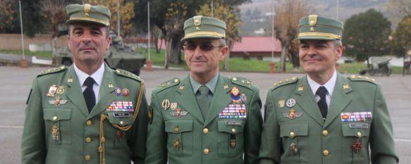 Ramón Armada sustituye a Julio Salom como coronel jefe del Tercio Alejandro Farnesio, El acto de relevo, de carácter interno, se ha celebrado este mediodía en el acuartelamiento General Gabeiras  , 16 Dec 2016 - 19:41