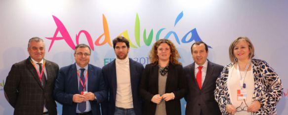 Ronda llena la sala 'Andalucía' de FITUR 2017 para la presentación de sus productos turísticos, Cayetano Rivera, embajador de la ciudad, quiso respaldar la promoción de los proyectos, 20 Jan 2017 - 18:13