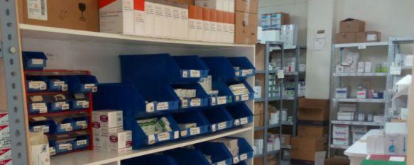 Imagen de la farmancia del Hospital de Ronda. // CharryTV