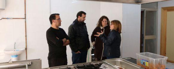 La cocina social municipal, que atiende a 25 personas, amplia su servicio de tres a cinco días, El Ayuntamiento de Ronda recibió el pasado ejercicio 1.120.000 en ayudas de la Junta para Bienestar Social, 08 Feb 2017 - 19:19