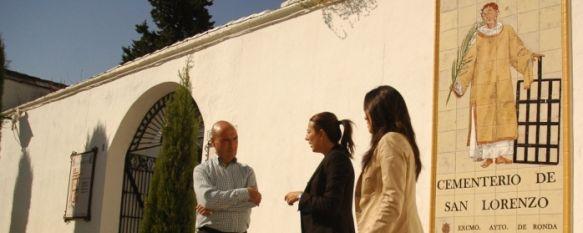 Se ultiman los preparativos en el Cementerio para la festividad de Todos los Santos, Las actuaciones han contado con una inversión aproximada de 20.000 euros, 19 Oct 2011 - 16:46