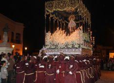 Candelas cuenta con el apoyo del capataz y los horquilleros de Nuestra Señora del Buen Amor // CharryTV