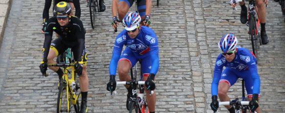 Valverde suma su quinto triunfo en la Ruta del Sol tras una etapa que atravesó Ronda , Numeroso público presenció el paso del pelotón de la Vuelta a Andalucía por nuestra ciudad, 19 Feb 2017 - 18:18
