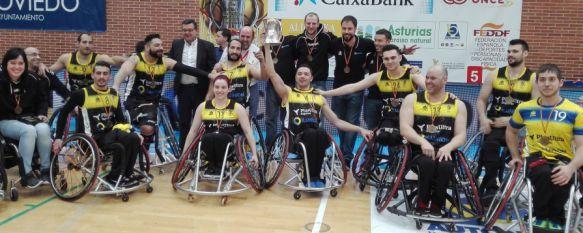 Josema Conde se proclama campeón de la Copa del Rey en Oviedo con el Ilunion, El rondeño es uno de los jugadores de baloncesto en silla de ruedas más destacados del país , 27 Feb 2017 - 21:37