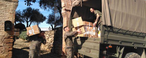 El Colegio Fernando de los Ríos envía 250 cajas de solidaridad a Bamako a través de La Legión, La iniciativa partió del General Alfonso García-Vaquero, que comandó hasta agosto de 2015 la misión EUTM en Mali , 07 Mar 2017 - 14:05