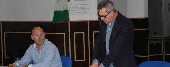 El presidente, José Manuel Ortega, expuso ante los asistentes la situación económica de la entidad // CharryTV