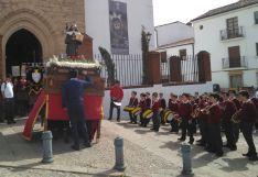 La salida procesional se ha realizado desde la Iglesia de Padre Jesús. // CharryTV