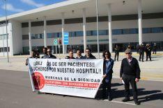 Miembros de la plataforma Nuevo Hospital ¡¡¡Ya!!! han vuelto a exponer sus reivindicaciones // CharryTV