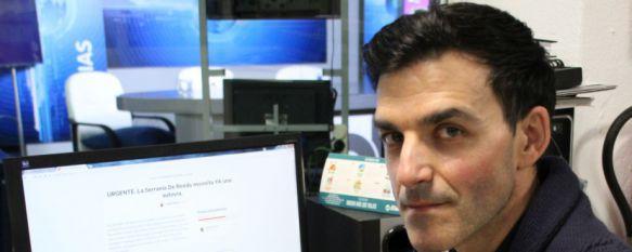 Más de un millar de firmas piden la creación de una autovía en la Serranía de Ronda, El rondeño Pedro Porras pone en marcha una campaña de recogida de firmas dirigida a las administraciones , 22 Mar 2017 - 18:01