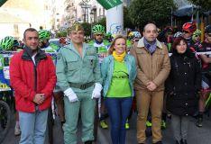 Representantes del equipo de gobierno junto al coronel jefe del 4º Tercio, Ramón Armada // Manolo Guerrero