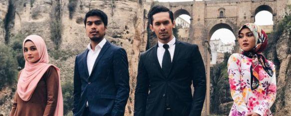 La televisión pública de Malasia rueda en Ronda una telenovela sobre la vida de un torero, En el reparto destaca la presencia de cuatro actores muy populares en este país del sureste asiático , 29 Mar 2017 - 17:22