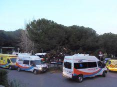 Trece ambulancias participaron en el dispositivo de traslado // CharryTV