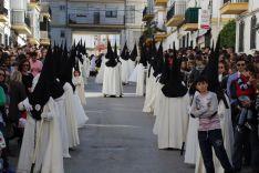 La Hermandad cuenta con un elevado número de nazarenos. // CharryTV