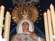 La Virgen estrenaba un precioso rostrillo. // CharryTV
