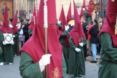 La Hermandad cuenta con un elevado número de nazarenos en sus filas. // CharryTV