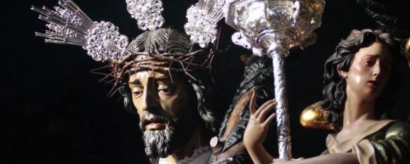 Nuestro Señor del Perdón y la Virgen de las Penas enmudecen a Ronda andando por derecho, La Hermandad de Paz y Caridad y de la Vera+Cruz ha vuelto a realizar una estación penitencial marcada por la oración y el respeto, 13 Apr 2017 - 21:53