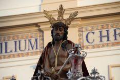 El Señor de la Escala, en su salida desde María Auxiliadora  // CharryTV
