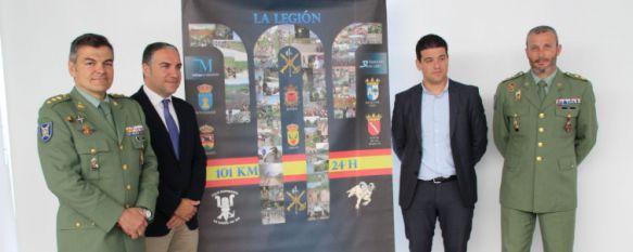 Presentan en la Diputación Provincial la XX edición de los 101 Kilómetros de La Legión, Volverá a contar con 7.500 participantes, medio millar menos que el pasado año , 18 Apr 2017 - 13:13