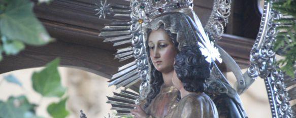 La Virgen de la Cabeza ya se encuentra en su casa de verano tras su romería , La Hermandad inicia a partir del próximo día 13 y hasta el 19 de agosto las misas sabatinas, 08 May 2017 - 20:11