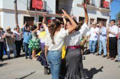 No faltaron los bailes y cantes que marcan la esencia de esta Hermandad. // CharryTV