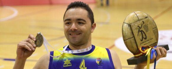 Josema Conde consigue el título de campeón de Europa con el CD Ilunion madrileño, El rondeño ha sido convocado por la Selección Española para disputar en Tenerife el Europeo de baloncesto en silla de ruedas, 11 May 2017 - 11:21
