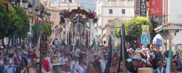 La Hermandad del Rocío de Ronda emprende el camino hacia Almonte, La presentación ante la Blanca Paloma será el viernes a las 20.25 horas, 29 May 2017 - 17:02