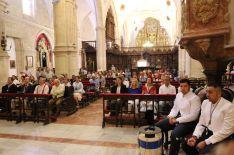 La misa de romeros ha contado con una alta participación este año. // CharryTV