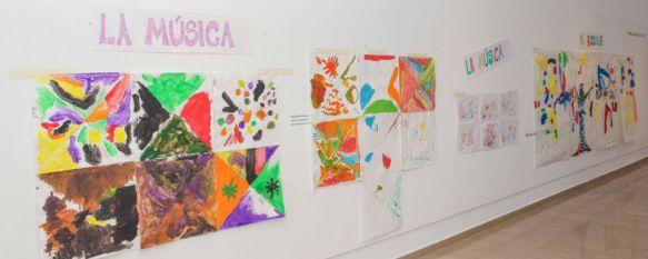 Algunos de los trabajos realizados se exponen en el Museo Joaquín Peinado. // CharryTV
