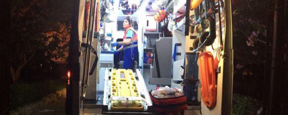 """En estado """"muy grave"""" el joven rescatado anoche en el Tajo tras caer a 60 metros de profundidad, La actuación por parte de los efectivos del Parque de Bomberos…, 16 Jun 2017 - 10:49"""