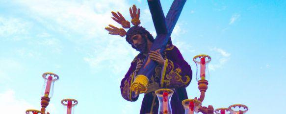 Devoción y sentimiento cofrade en la salida extraordinaria de Nuestro Padre Jesús Nazareno, La procesión contó con el acompañamiento de la Banda de Cornetas y Tambores Nuestra Señora del Rosario, 26 Jun 2017 - 17:15
