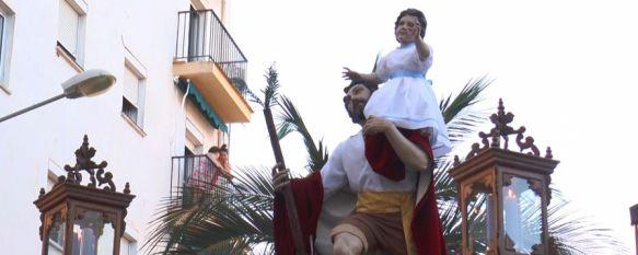 San Cristóbal se quedará en su templo por la falta de recursos económicos, La procesión estaba prevista para el próximo sábado día 8 de julio, 30 Jun 2017 - 13:52