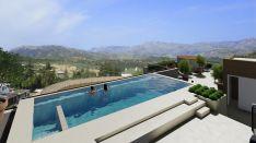 La piscina infinity es uno de los servicios más destacados del nuevo hotel. // Hoteles Catalonia.