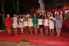 La presidenta junto a las Damas Goyescas fueron nombradas oficialmente. // CharryTV