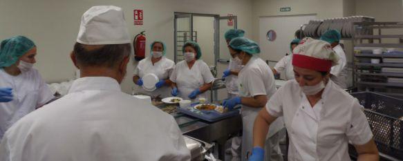 Ponen en funcionamiento la cocina del nuevo Hospital de Ronda , Las instalaciones, desde las que se ofrecerán 175.000 menús anuales, han contado con una inversión superior al medio millón de euros, 31 Jul 2017 - 16:21
