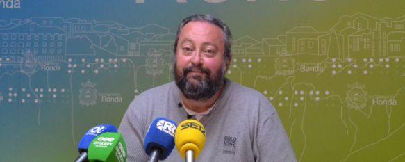 José María Jiménez durante una rueda de prensa. // CharryTV