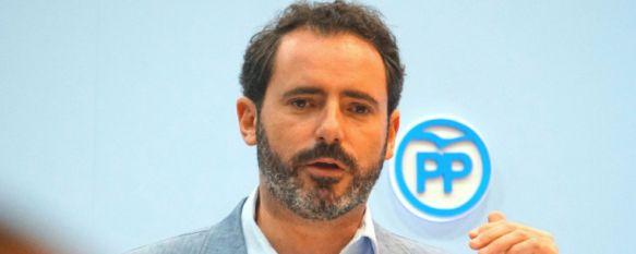José Ramón Carmona, portavoz provincial del Partido Popular   // PP Málaga
