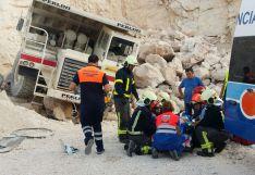 El trabajador ha sido atendido en el acto y ha sido trasladado posteriormente al Hospital Comarcal de Ronda  // CharryTV