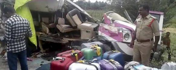 Detienen al conductor del camión que provocó la muerte de los tres rondeños en India, Pese a la gravedad de los hechos y a fugarse, el código penal de este país contempla una pena máxima de diez años de cárcel , 21 Aug 2017 - 19:48