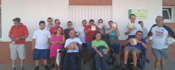 ASPRODISIS, dentro del proyecto  'Goles por la Integración' de la Fundación Joaquín Caparrós