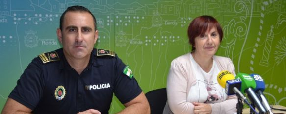Presentan el programa de actividades de la I Semana de la Policía Local de Ronda, Se celebrará del 3 al 6 de octubre con motivo del 180 aniversario de la creación de este cuerpo de seguridad en la ciudad, 27 Sep 2017 - 18:50