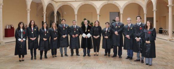 El Colegio de Abogados de Málaga celebra en Ronda los actos patronales de Santa Teresa, El Convento de Santo Domingo ha acogido la jura de dos nuevos…, 19 Oct 2017 - 10:31