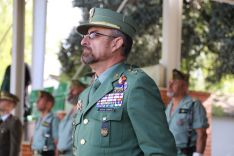 El acto ha estado presidido por el General Martín Cabrero. // CharryTV