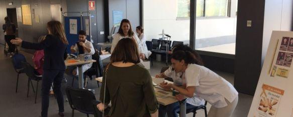 La intervención de prevención ha sido organizada por Ángela Ollero, facultativa especialista de área de Neurología. // CharryTV
