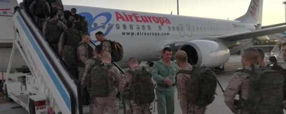 Parten hacia Mali 85 militares españoles, la mayoría del Grupo de Caballería de Ronda , Realizarán el relevo en la operación EUTM Mali XI y permanecerán en tierras africanas durante seis meses , 08 Nov 2017 - 10:05