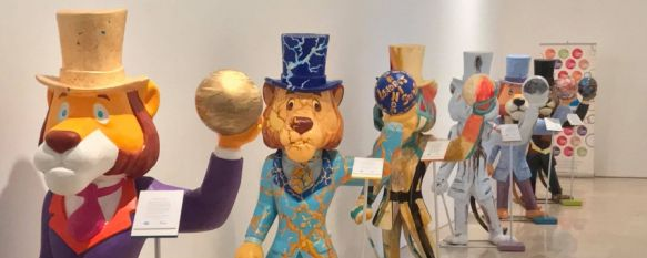 Willy Fog llega a Ronda en una exposición de 30 esculturas del popular personaje de animación